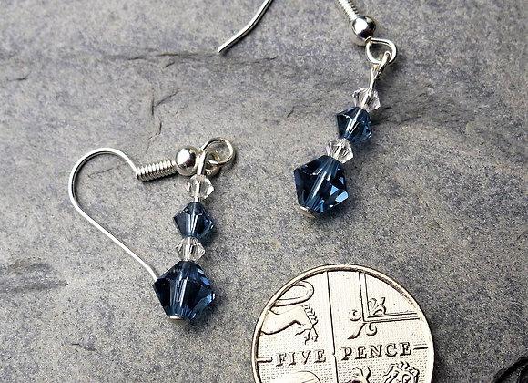 Sparkly Swarovski Birthstone Earrings
