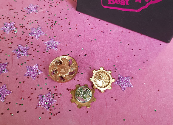 CRZyBest Cogs Lapel Pin
