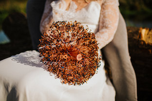 Copper Industrial Alternative Bouquet by