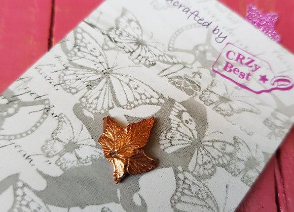 Tiny Hop Leaf Lapel Pin