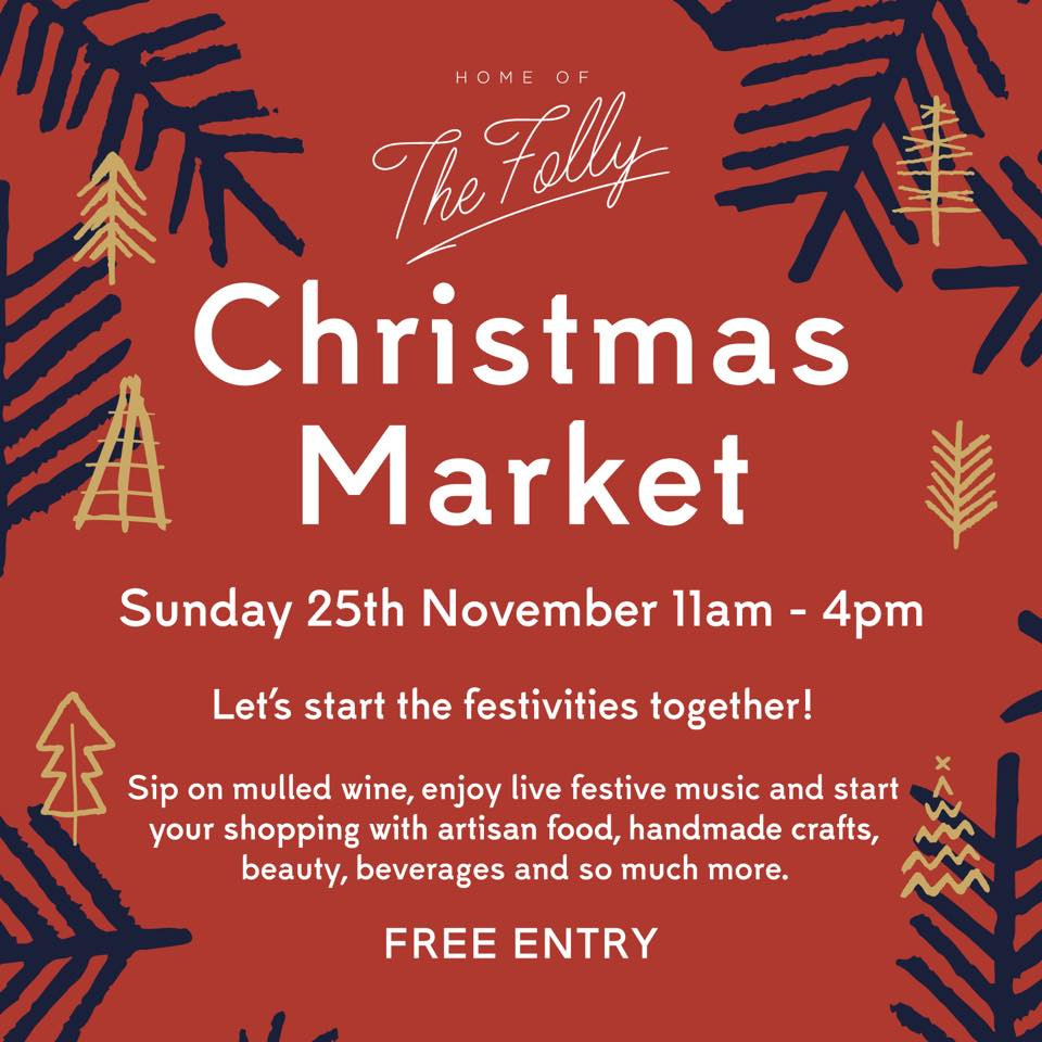 Christmas Market at The Folly