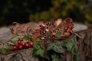 Autumnal Copper Crown by CRZybest