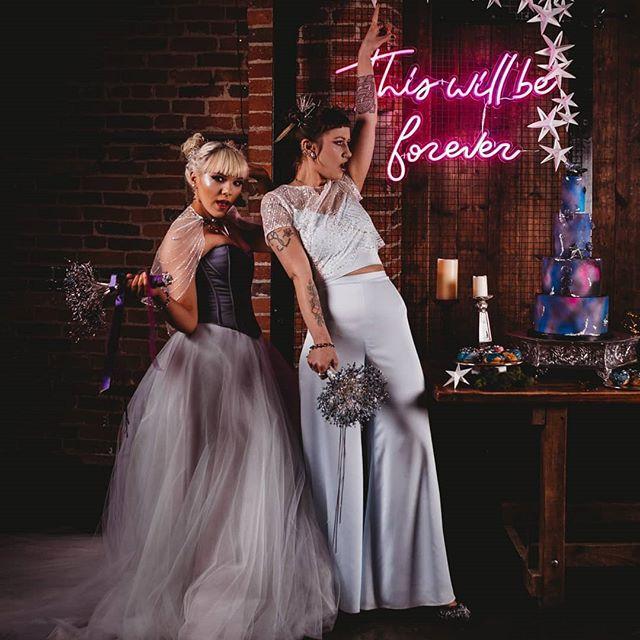 CRZyBest Eco Galaxy Alternative Wedding Styled Shoot