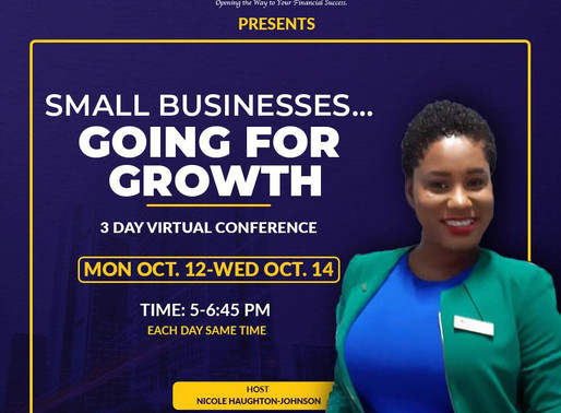Small Businesses Going for Growth! Highlights from Credit Union Week 2020