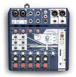 Mixer Notepad 8FX