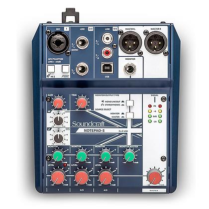 Mixer Notepad 5