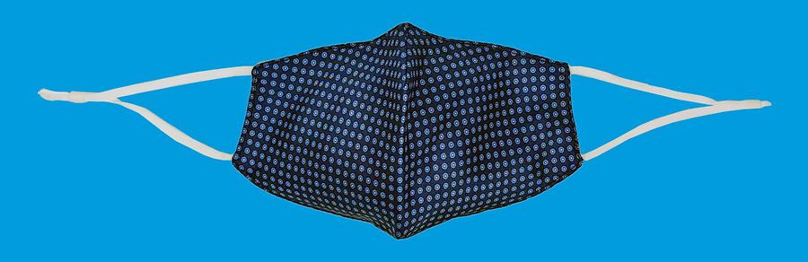 2-in-1 Silk face mask/pocket square, Charles Tyrwhitt. July 2020