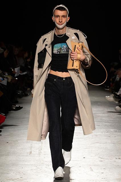 Dominic Huckbody - London Fashion Week F