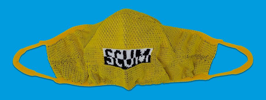 Yellow Scum Mask, Fakescum. March 2020