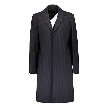 Alexander McQueen - Slash back coat. 1998