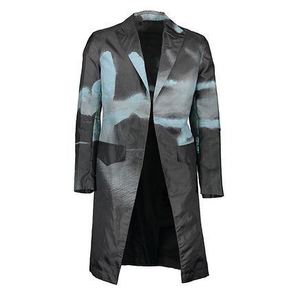 Alexander McQueen, Spray painted frock coat