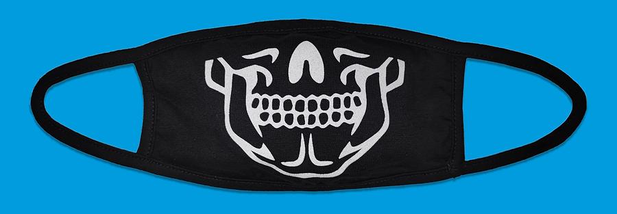 Skeleton Fashion Mask, BoohooMAN. April 2020