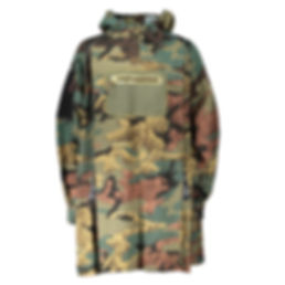 Camouflage Smock - Adam Marc James