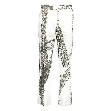 Alexander McQueen - tyre print trousers