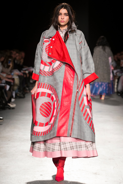 Katie McGuigan winner of Fashion Scout Merit Award