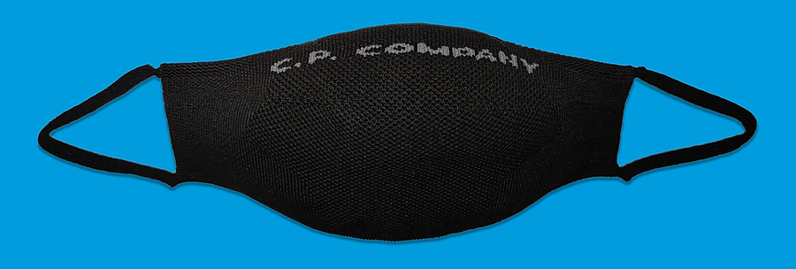 Dryarn Social Mask, C.P. Company. May 2020