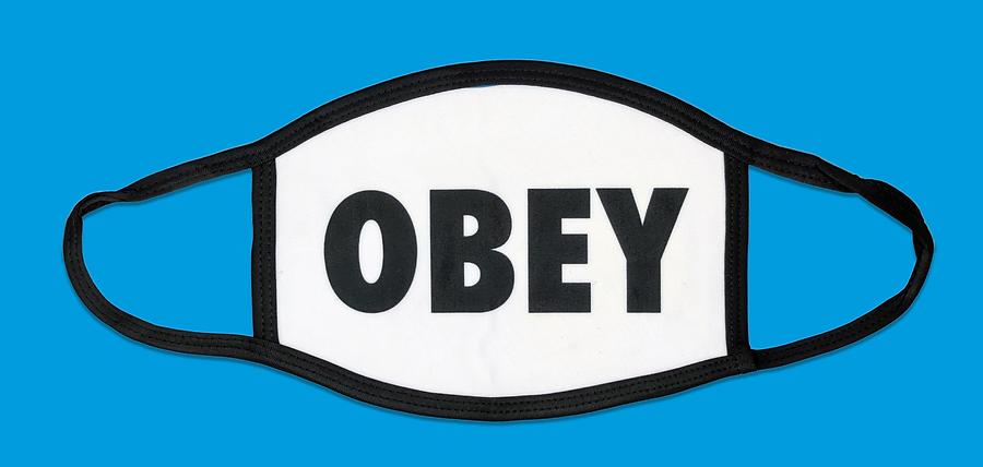 Obey mask, Retrobomb. May 2020