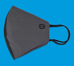 3 pack Plain Reusable Face Coverings, Burton. July 2020
