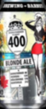 Best Ontario Craft Beer 400 Blonde Ale