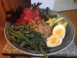 A Summer Bowl Meal Prepared by Jenny Favret