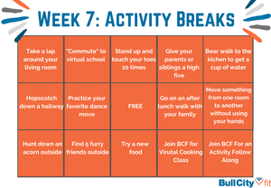 BCF Activity Break Board