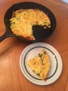 Frittata Prepared by Jenny Favret