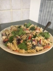 Simple Summer Meal:  Pasta Salad