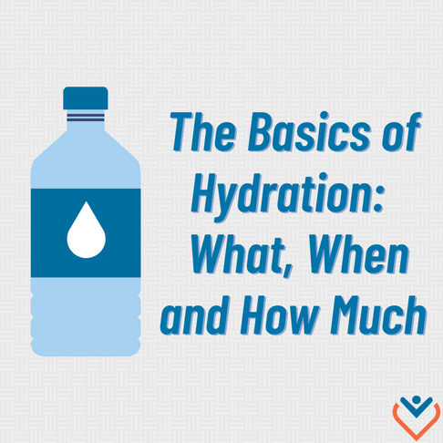 The Basics of Hydration:  What, When and How Much