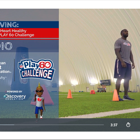 Week 13: Football Skills with #GetMovingPLAY60
