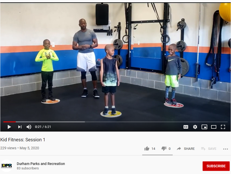 Kid Fitness: Session 1
