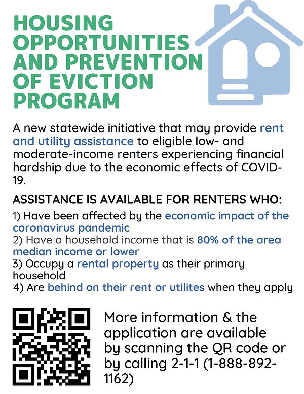 Housing Opportunities and Prevention of