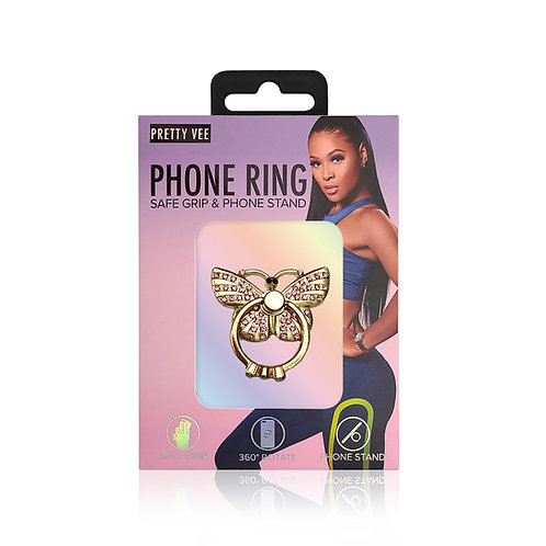 Butterfly Phone Ring Stand