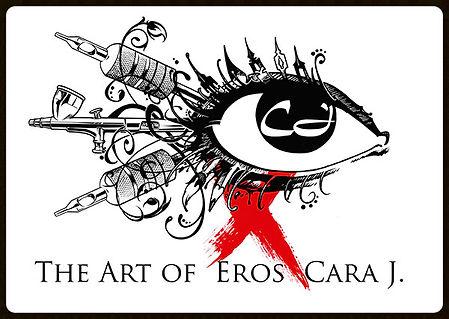 Eros Cara J Logo, eroscarajart - www.eroscarajart.com