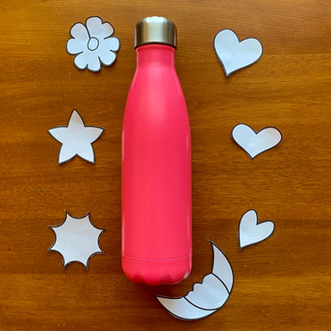 Water Bottle Before