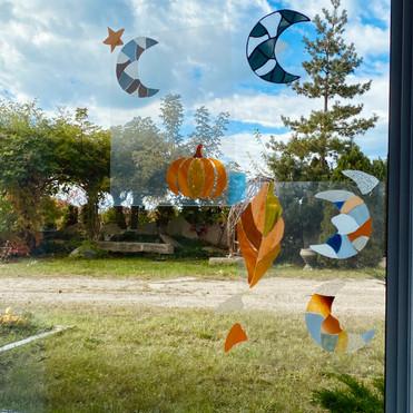 Patterns on Window