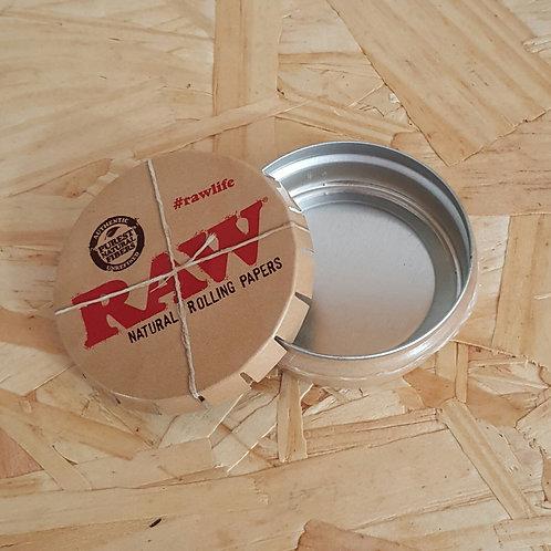 Caixinha Cinzeiro de Metal Raw