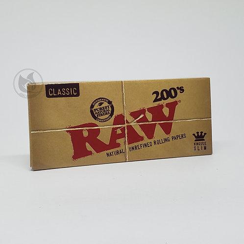 Seda RAW KS Com 200 Folhas