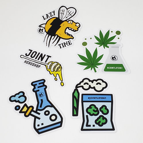 Pack Stickers Lazy Time