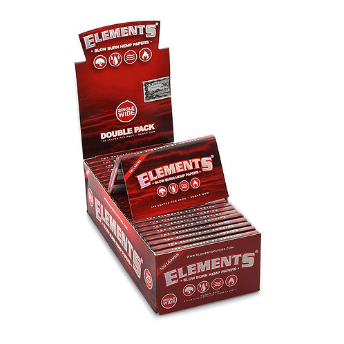 Seda Elements Red Mini 100 Folhas
