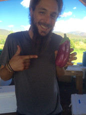 Mike and his eggplant face