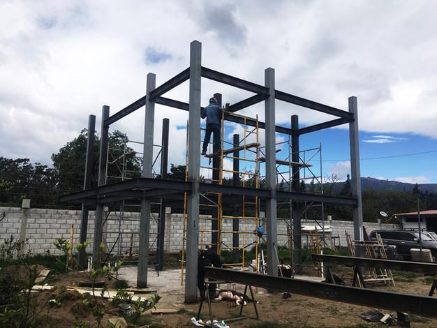 Construcción Con Estructura Metálica Diseño Cálculo