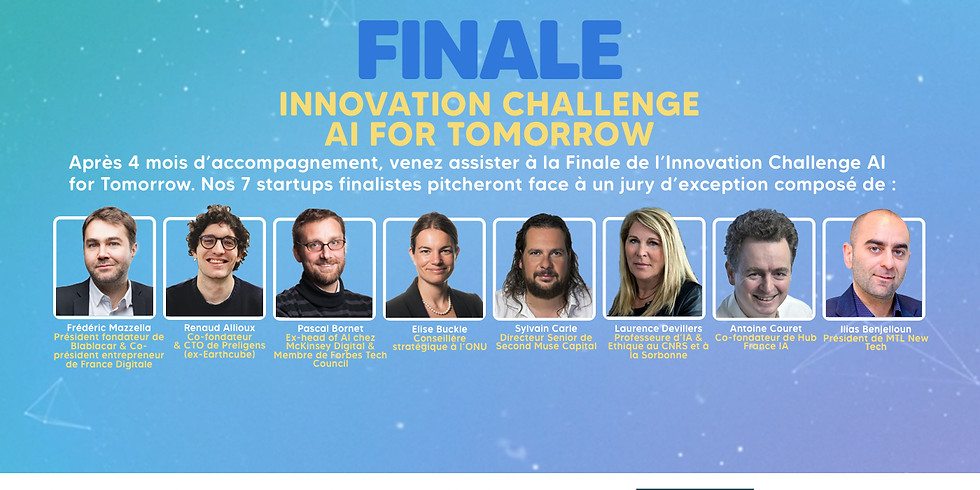 La Grande finale de l'Innovation Challenge - 1ère édition