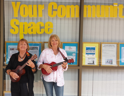 Space Ukes on Blanche Street