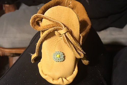 Baby moccasins beaded