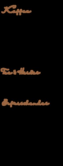 hoffmanns-cafebar-speisekarte-getraenke-kaffee-tee-afri-cola-saft-wasser-laktosefrei-entkoffeiniert-pflanzenmilch-capucchino-espresso-latte-macchiato-schokolade