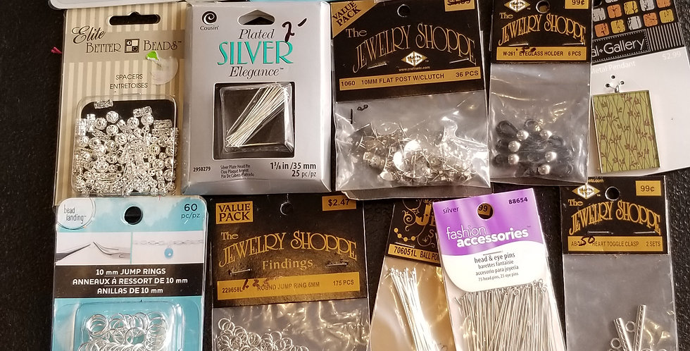 Findings for jewelry making, 20 new in package!