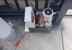 Sliding gate motor repairs