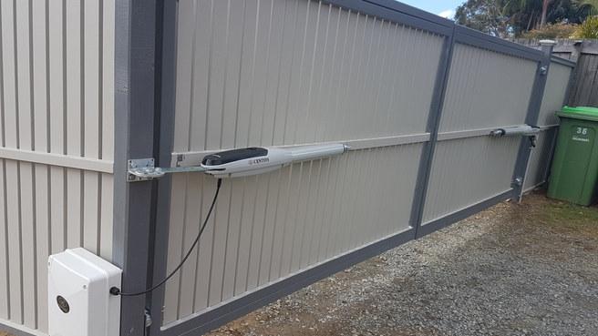 Swing Gate Motor Installation