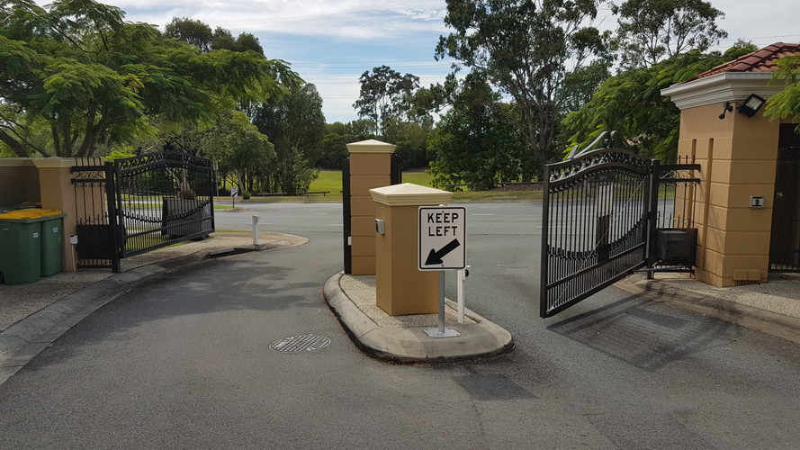 Gated Community Swing Gates