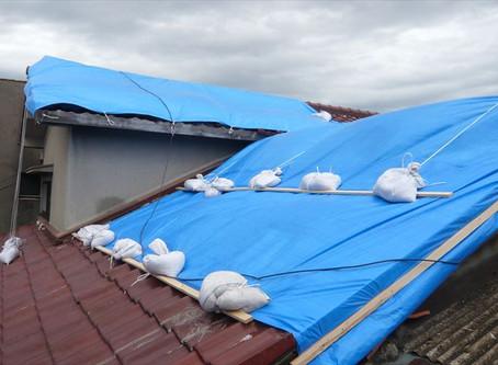 台風被害その後2